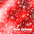 Abstract christmas bokeh — Stock Photo
