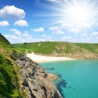 Porthcurno Beach — Stock Photo