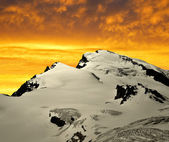 Strahlhorn in the sunset — Photo