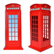 British telephone box — Stock Photo #36688459