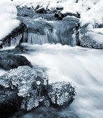 Winter creek — Stock Photo