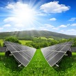Solar energy panels — Foto de stock #37896557