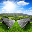 Solar energy panels — Stockfoto #37896557