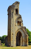 Glastonbury Abbey in Somerset — Stock Photo