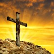 Jesus Christ on The Cross — Stock Photo #38194381