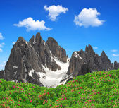 Dolomite Alps,Italy — Stock Photo
