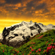 Stock Photo: Beautiful mount Monte Rosa