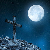Jesus Christ on The Cross — Foto Stock