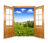 Open the door — Stock Photo