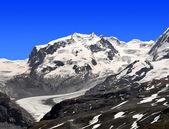 Monte rosa - alpes suizos — Foto de Stock