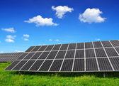 Güneş enerjisi panelleri — Stok fotoğraf