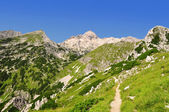 Mount Triglav in the Julian Alps — Stock Photo