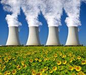 Elektrowni jądrowej — Zdjęcie stockowe