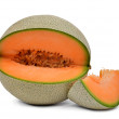 Orange cantaloupe melon — Stock Photo #45224781