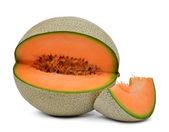 Orange cantaloupe melon — Stock Photo