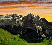 Marmolada peak — Stock Photo