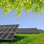 группы солнечной энергии — Стоковое фото #46272691