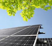 панели солнечной энергии — Стоковое фото