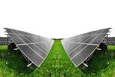 太阳能板 — 图库照片