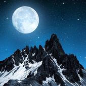 Paternkofel in night — Stock Photo
