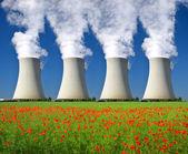 核发电厂 — 图库照片