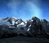 Marmolada peak — Stock Photo