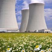 Nuclear power plant Temelin — Stock Photo