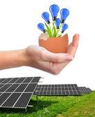 Energetické koncepce — Stock fotografie