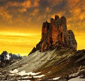 Tre cime di Lavaredo — Stock Photo