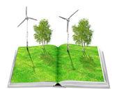 Eco book — Stock Photo