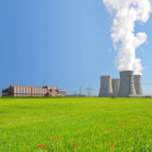 Nuclear power plant Temelin — Stock Photo