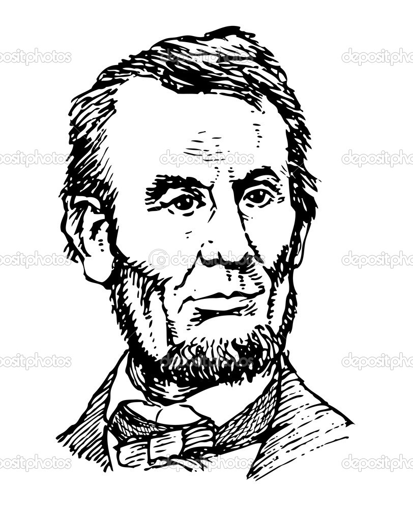 The gallery for abraham lincoln coloring pages full body for Lincoln coloring pages