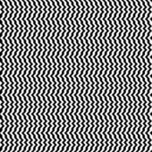 Zebra Stripes Opart — Stock Vector