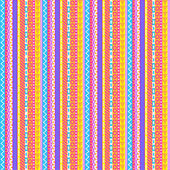 Intricate Pastel Stripes Pattern — Stock Vector