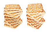 The yummy biscuits — Stock Photo