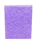 Purple book standing isolated — Stock Photo