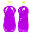 Purple bottles with cleaning liquid — Stock Photo #44171659