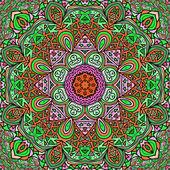 Kolorowe ornament prostokątne — Wektor stockowy