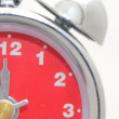 Red alarm clock — Stock Photo #19143147