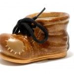 Ceramic shoe — Stock Photo