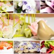 decoratie collage — Stockfoto