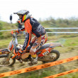 European Enduro Championship 2013 — Stock Photo