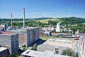 Zlin industrial district — Stock Photo