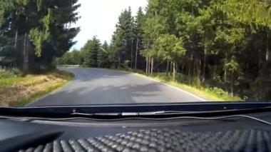 La strada di guida — Video Stock