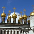 Russia , Moscow . Architectural Buildings of the Moscow Kremlin — Stock Photo