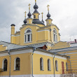 Moscow, Church of the Intercession in the village of Red — Stock Photo