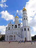 Moscow. Cathedral Square of the Moscow Kremlin — Stock Photo
