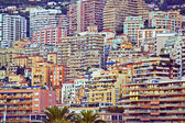 Monaco . Tipical architecture of the houses. — Stock Photo