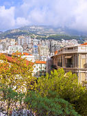Monaco , a typical view from the highest point — Stock Photo