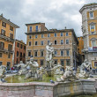 ������, ������: Rome Italy The famous fountain in the Piazza Navona
